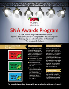 SNA Awards Program