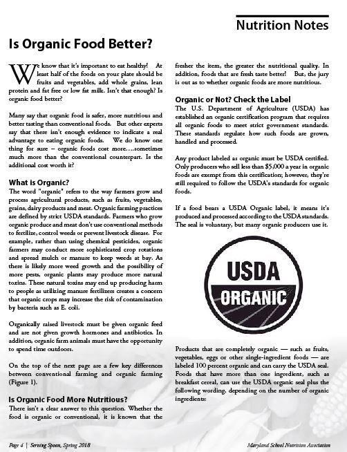 Organic Article