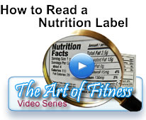 How to read a nutrion label