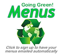 Going Green Menus